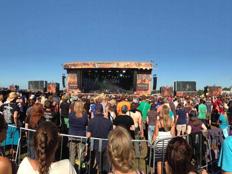 Deichbrand Festival:  2x Cuxhaven und zurück. Große Bühne und große Aufregung!