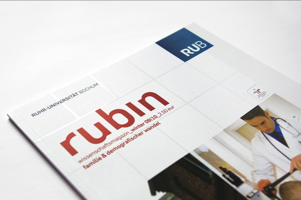 rubin - das Wissenschaftsmaganzin der Ruhruniversität Bochum